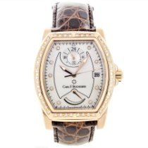 Carl F. Bucherer Red gold Automatic No numerals 36mm pre-owned Patravi