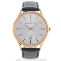 Hamilton Red gold Automatic No numerals 40mm pre-owned Jazzmaster Thinline