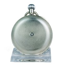 Omega Silber Handaufzug Römisch 51mm gebraucht