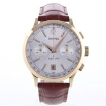 Eberhard & Co. Red gold Automatic Arabic numerals 39.5mm pre-owned Extra-Fort