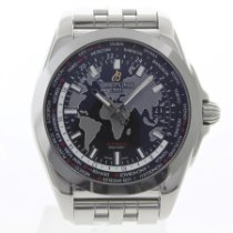 Breitling Galactic Unitime pre-owned 44mm Steel