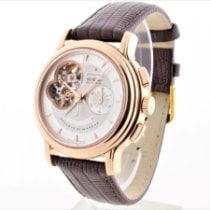 Zenith Red gold Automatic No numerals 40mm pre-owned El Primero Chronomaster