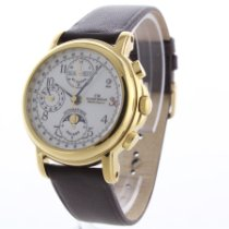 Claude Meylan Yellow gold 38mm Automatic 7041 pre-owned