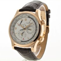 Jaeger-LeCoultre Master World Geographic Rotgold 41.5mm Arabisch