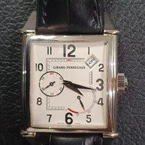 Girard Perregaux Or blanc Remontage automatique Noir 32mm occasion Vintage 1945