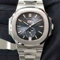 Patek Philippe Nautilus Steel 40.5mm Blue United States of America, New York, Manhattan