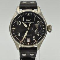 IWC Big Pilot White gold 46mm Grey Arabic numerals United States of America, Texas, Houston