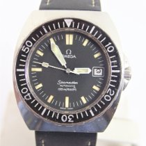 Omega Seamaster PloProf pre-owned Leather
