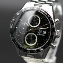 TAG Heuer Carrera Calibre 16 Steel 41mm Black No numerals United States of America, New Jersey, Long Branch
