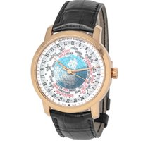 Vacheron Constantin Rose gold Automatic Silver 42mm pre-owned Patrimony
