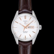TAG Heuer Carrera Calibre 5 Steel 41mm White United States of America, California, San Mateo