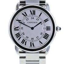 Cartier Ronde Solo de Cartier gebraucht 36mm Doppelfaltschließe