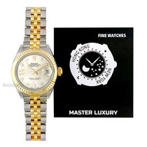 Rolex Lady-Datejust Gold/Steel 28mm Silver No numerals United States of America, New York, New York