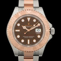 Rolex Steel Automatic Brown 40mm new Yacht-Master 40