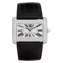 Cartier Tank Divan White gold 38mm Silver Roman numerals United States of America, Florida, Surfside