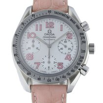 Omega Speedmaster Ladies Chronograph Steel 39mm Mother of pearl United States of America, New York, New York
