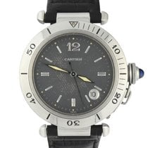 Cartier Pasha Steel 38mm Grey Arabic numerals United States of America, Georgia, Atlanta