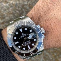Rolex Submariner Date Acier 40mm Noir Sans chiffres France, Bastia
