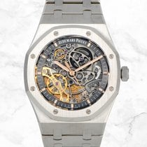 Audemars Piguet Royal Oak Double Balance Wheel Openworked 15407ST.OO.1220ST.01 Sin usar Acero 41mm Automático