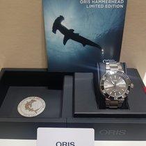 Oris Hammerhead Limited Edition Steel 45.5mm Grey No numerals