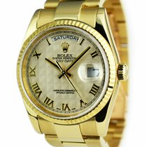 Rolex Day-Date 36 36mm Champagne Romains