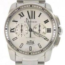 Cartier Calibre de Cartier Chronograph Stahl 43mm Silber Deutschland, Weißenbrunn