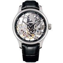 Aerowatch Renaissance Steel 43mm Transparent No numerals