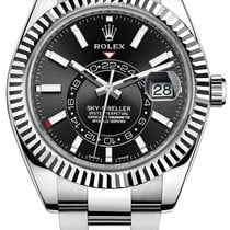 Rolex Sky-Dweller Steel 42mm Black No numerals United States of America, New York, New York