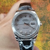 Rolex Datejust White gold 36mm Mother of pearl