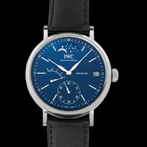 IWC Portofino Hand-Wound Steel 45.0mm Blue United States of America, California, San Mateo