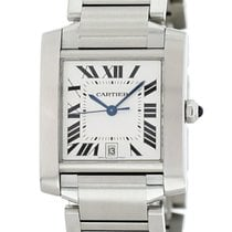 Cartier Tank Française Steel 28mm Silver United States of America, New York, New York