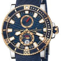 Ulysse Nardin Maxi Marine Diver Титан 45mm Синий Без цифр