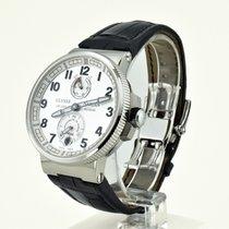 Ulysse Nardin Marine Chronometer Manufacture Steel 43mm Silver