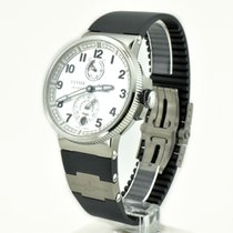 Ulysse Nardin 1183-126-3/61 Сталь Marine Chronometer Manufacture 43mm подержанные