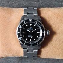 Rolex Submariner (No Date) Acier 40mm Noir Sans chiffres France, Argenteuil
