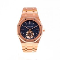 Audemars Piguet Royal Oak Tourbillon Rose gold 41mm Blue