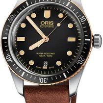 Oris Divers Sixty Five 73377074354LS new