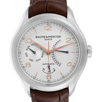 Baume & Mercier new Automatic 43mm Steel Sapphire crystal