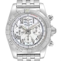 Breitling Chronomat 44 Steel 43.5mm Mother of pearl Roman numerals United States of America, Georgia, Atlanta