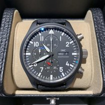 IWC Pilot Chronograph Top Gun Ceramic 44.5mm Black United States of America, Iowa, Des Moines