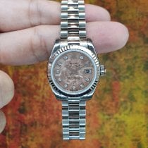 Rolex Lady-Datejust Oro blanco 26mm Rosa