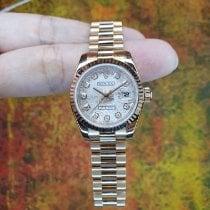 Rolex Pозовое золото Автоподзавод Розовый Римские 26mm новые Lady-Datejust