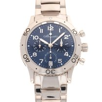 Breguet Type XX - XXI - XXII White gold 39.5mm Blue