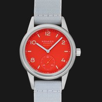 NOMOS Club Neomatik Steel 37mm Red United States of America, California, San Mateo