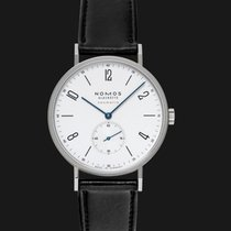 NOMOS Tangente Neomatik Steel 38.5mm White United States of America, California, Burlingame