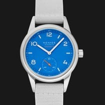 NOMOS Club Neomatik 37.0mm Blue United States of America, California, Burlingame