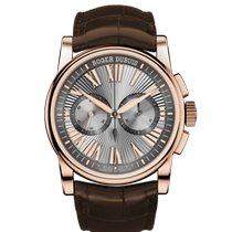 Roger Dubuis Hommage Rose gold 42mm Silver Roman numerals United States of America, California, Newport Beach