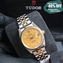 Tudor Prince Date Gold/Steel 34mm Champagne