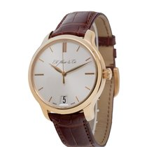 H.Moser & Cie. Endeavour Rose gold 41mm Silver United States of America, New York, Hartsdale