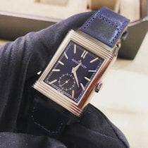 Jaeger-LeCoultre Reverso Duoface Steel 47mm Blue No numerals United States of America, Iowa, Des Moines